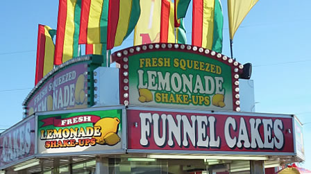 Lemonade, funnel cakes and more!