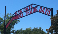 The Main Gate at First Monday Trade Days in Canton Texas on Groves Street