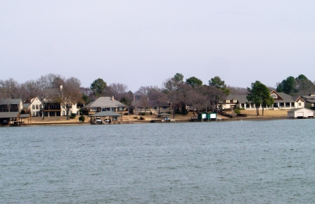 Lake Palestine near Tyler, Athens and Canton Texas