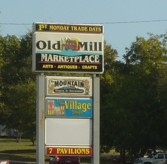 The Old Mill Marketplace at First Monday