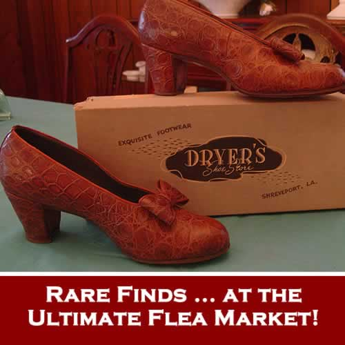 Rare finds at the Ultimate Flea Market ... Canton First Monday Trade Days in Canton, Texas